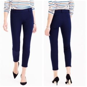J.Crew Minnie Pants in Stretch Twill Cropped